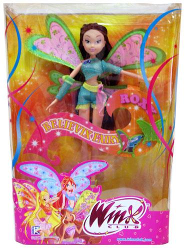 Roxy winx кукла