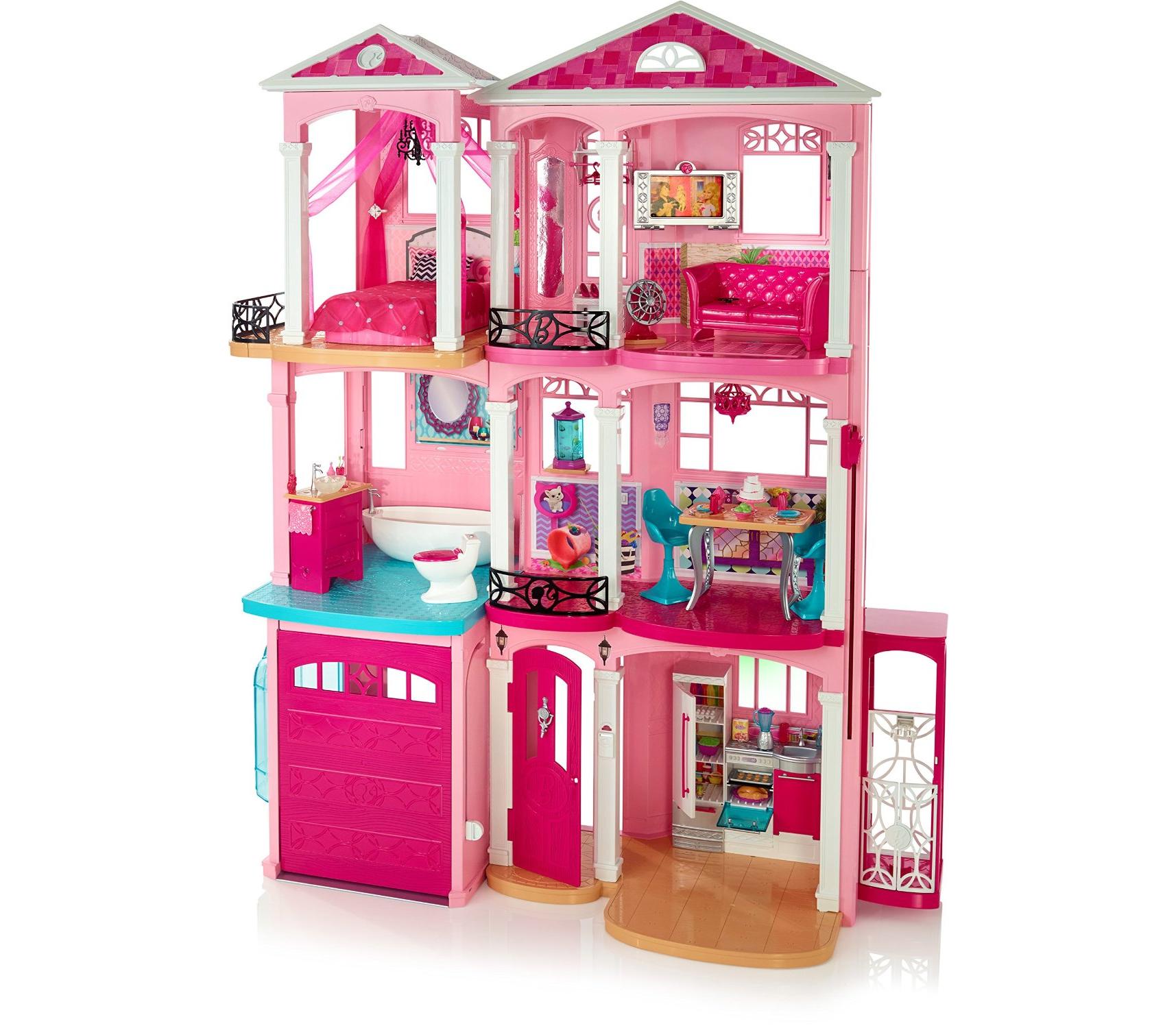 Куклы барби дом