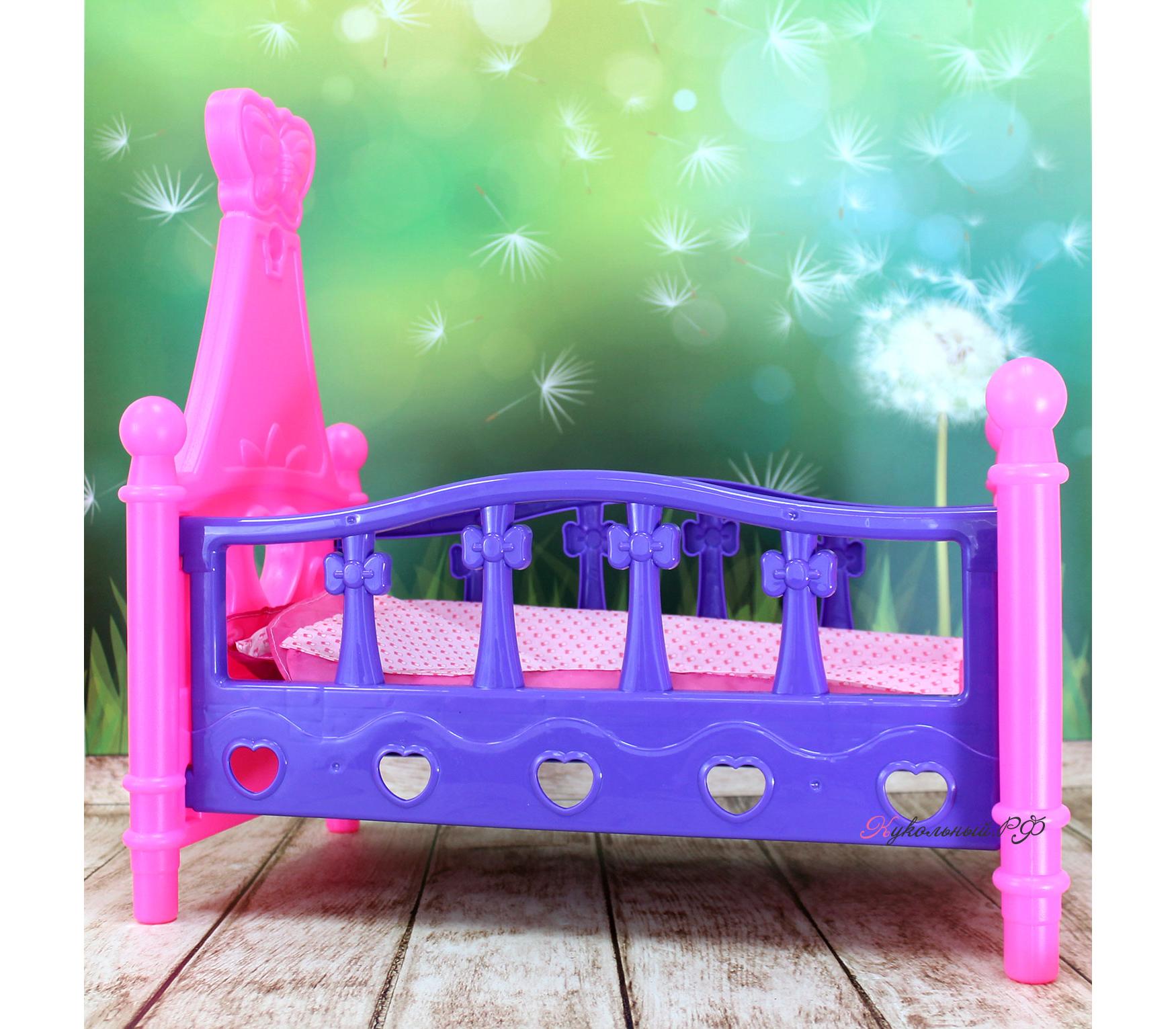 Как сделать кровать для кукол беби бон фото