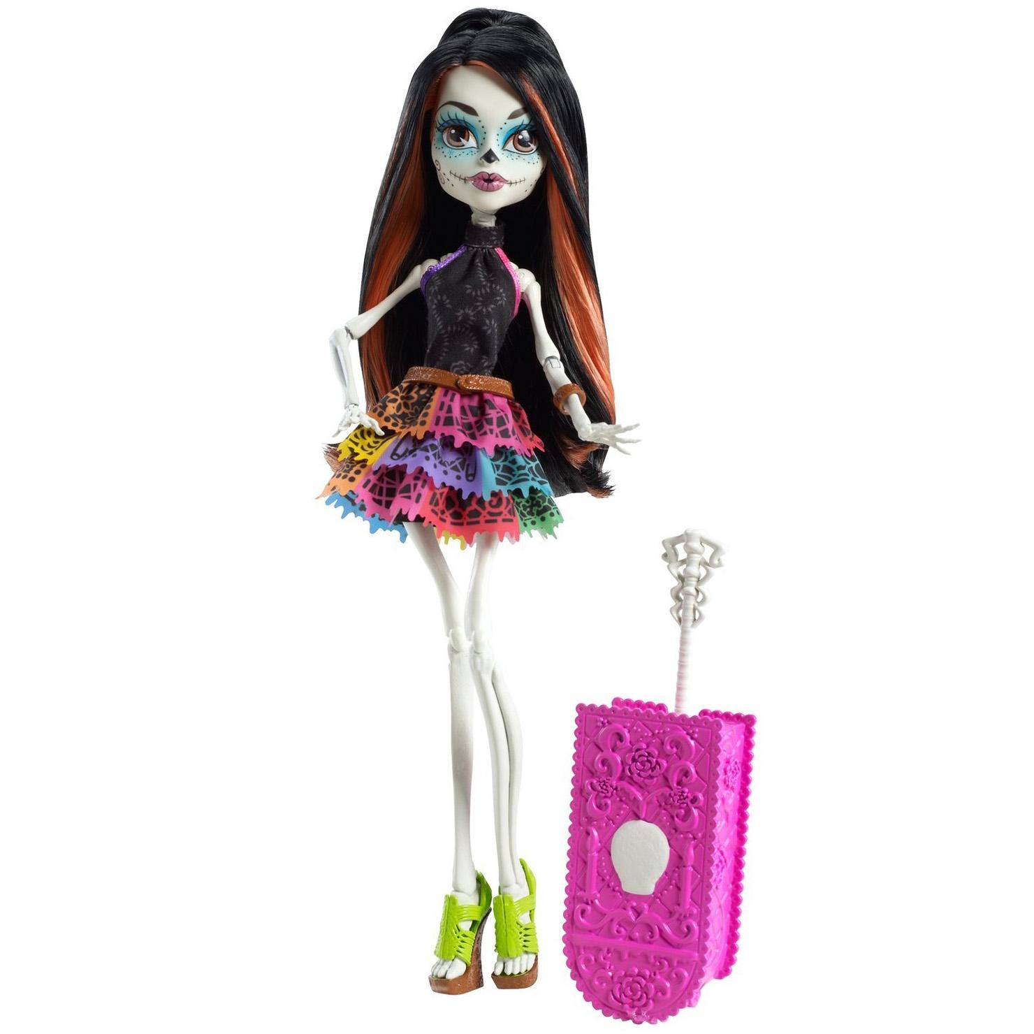 Фото куклы монстер хай скелита калаверас