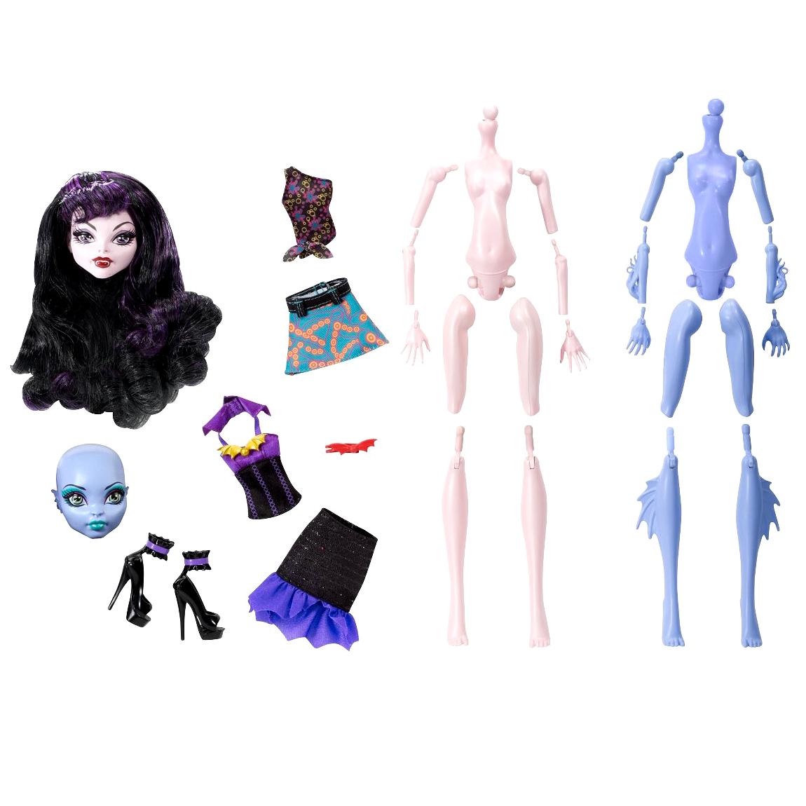 картинки как делают кукол монстер хай для