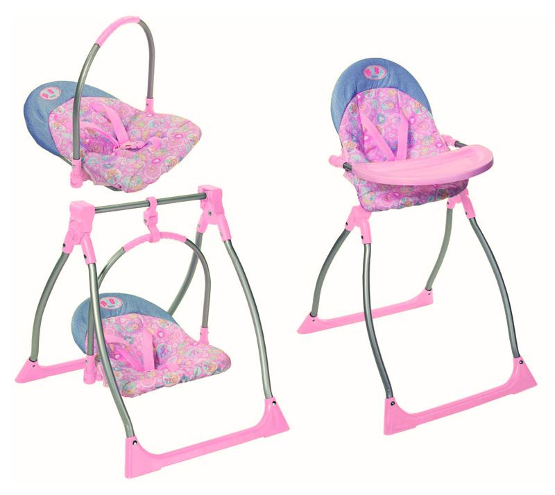 Кукольный стульчик для кормления 159