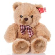 AURORA Игрушка мягкая Медведь  с клетч. бантом 80 см (11-415), фото 1