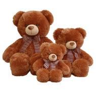 AURORA Игрушка мягкая Медведь коричневый с бантом 69см (30-349), фото 1