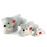 AURORA Игрушка мягкая Медведь лежачий 100 см (301-18), фото 1