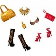 """(N4811-BCN44) Набор обуви и аксессуаров для куклы Барби """"Модный стиль"""", фото 1"""