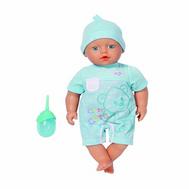 (818-350) BABY born Пупс-мальчик с бутылочкой, 32 см, фото 1