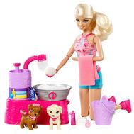 """(W3153) Кукла Барби """"Купаем щенков"""", фото 1"""
