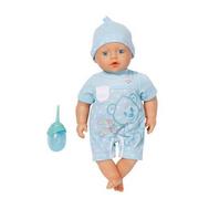 (818-756) BABY born Пупс-мальчик с бутылочкой, 32 см, фото 1