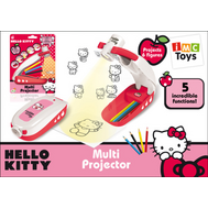 (310124) Hello Kitty Мультипроектор с карандашами, на батарейках, на блистере, фото 1