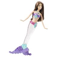 """(V7046-7048) Кукла Барби """"Сияющая русалка """" брюнетка, фото 1"""