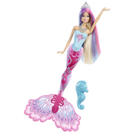 "(X9177-9178) Кукла Барби ""Русалка меняющая цвет в воде"", фото 1"