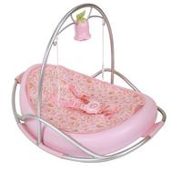 (792-100) Baby Annabell Кроватка-качалка музыкальная, фото 1
