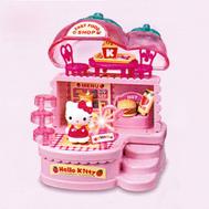 (1103862) Hello Kitty Клубничное кафе, на батарейках, в коробке, фото 1