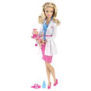 """(R4226-9075) Кукла Барби """"Кем быть?"""" Детский доктор, фото 1"""