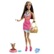 """(x2278-2281) Кукла Барби """"Модная штучка с питомцем"""", фото 1"""