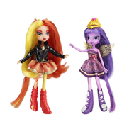"Кукла My Little Pony ""Эквестрия Герлз 2 куклы"" Sunset Shimmer ,Twilignt Sparkle, фото 1"