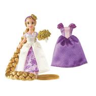 (T4951-7564) Мини-кукла Disney Princess - Рапунцель (Rapunzel) с косой и сменными нарядами, фото 1