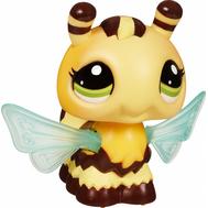 "(37171) Игрушка Littlest Pet Shop ""Ходячие зверушки"" Пчелка, фото 1"