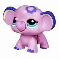 "(37172) Игрушка Littlest Pet Shop ""Ходячие зверушки"" Сиреневый слоненок, фото 1"