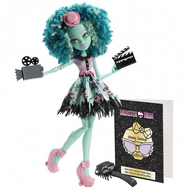 "(BLX22-BLX24) Кукла Монстер Хай ""Страх, Камера, Мотор"" Хани Свамп, фото 1"