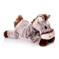(10-824) Игрушка мягкая Лошадка плюшевая лежачая 28 см, фото 1