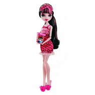 "(X4514-4515) Кукла Школа монстров ""Пижамная вечеринка"" Дракулаура, фото 1"