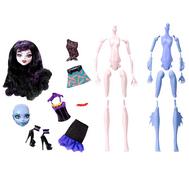 """(Y6608-6610) Кукла Школа монстров """"Создай своего монстра"""" Вампир, Морской Монстр, фото 1"""