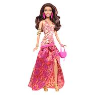 """(Y7495-7498) Барби """"Игры с Модой"""" в модном платье, фото 1"""