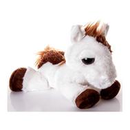 (10-814) Игрушка мягкая Лошадка белая с большими глазами 30 см, фото 1