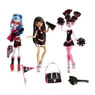 """(V7966) Кукла Школа монстров """"Эксклюзивный набор из 3х кукол"""" Дракулаура, Клео Де Нил, Джулия Йелпс, фото 1"""