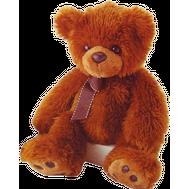 AURORA Игрушка мягкая Медведь тёмно-коричневый 70 см (41-102), фото 1
