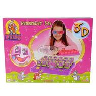 (50-25) Игрушка игра Filly 3D для развития памяти, фото 1