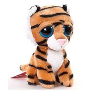 Игрушка мягкая Тигр с большими глазами, 14 см, фото 1