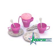 Barbie. Набор чайной посудки БАРБИ (12 предметов в сетке), фото 1