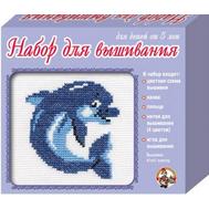 Вышивка. Дельфин (Россия), фото 1