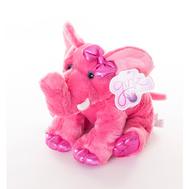 AURORA Игрушка мягкая Слон 30 см розовый, фото 1
