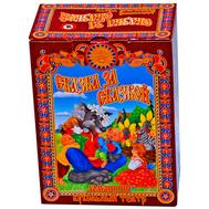 """Набор Кукольный театр """"Курочка Ряба"""" 4 персонажа (Дед, бабка, курочка, мышка)(в маленькой коробке), фото 1"""