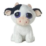 Игрушка мягкая Корова с большими глазами, 14 см, фото 1