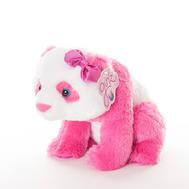 AURORA Игрушка мягкая Панда 30 см розовый, фото 1