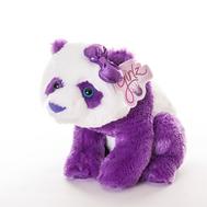 AURORA Игрушка мягкая Панда 30 см лиловый, фото 1