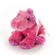 AURORA Игрушка мягкая Бегемот 30 см розовый, фото 1