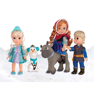 Игровой набор Холодное Сердце Принцессы Дисней,  5 кукол 15 см (310310), фото 1