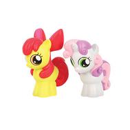 My Little Pony. Набор из пластизоля Друзья Пони 2шт, в сетке HASBRO, фото 1