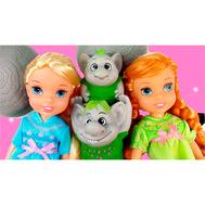 Игровой набор Принцессы Дисней Холодное Сердце 2 куклы 15 см и тролли (310630), фото 1