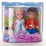 Кукла Принцессы Дисней Золушка и принц Чаминг, 15 см., фото 1