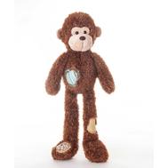 AURORA Игрушка мягкая Обезьянка с заплатками 45 см, фото 1