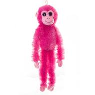 AURORA Игрушка мягкая Шимпанзе малиновый 50 см, фото 1