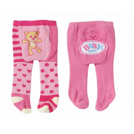 "Одежда для куклы Бэби Бон ""Колготки"" 2 пары (мишка), фото 1"