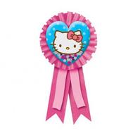 Значок Hello Kitty с розовой лентой/A, фото 1
